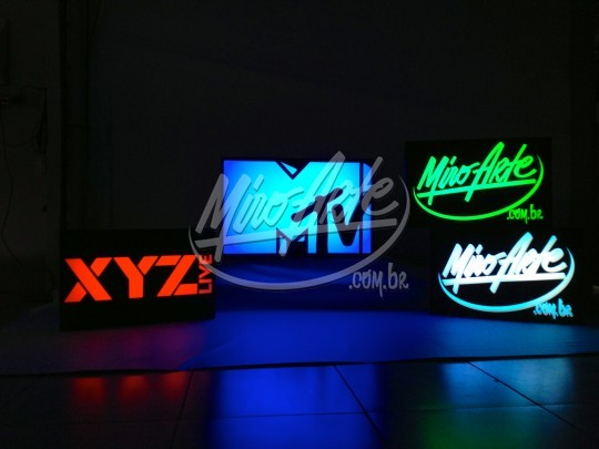 Backlight personalizado LED