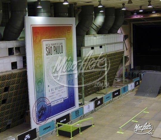 Mega Banner Nike SB Comunicação Visual