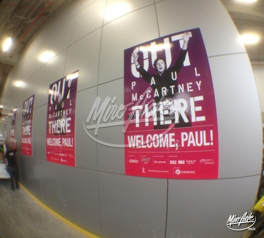 Placas Paul McCartney
