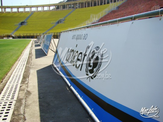 Placas de Campo para evento esportivo